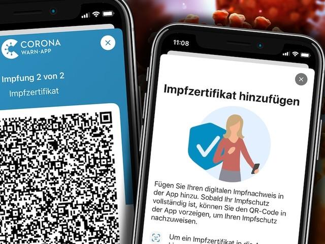 Digitaler Impfpass ist fertig - Corona-Warn-App: Großes Update bringt digitalen Impfnachweis