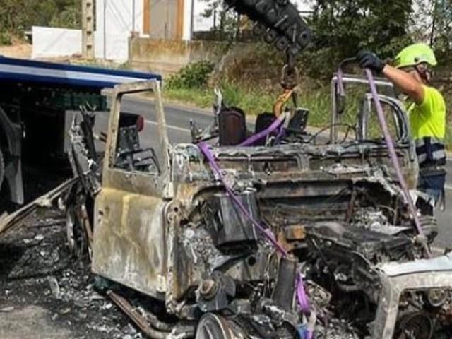 Bei Fahrt mit seinem Sohn: Thomas Anders' Geländewagen geht in Flammen auf