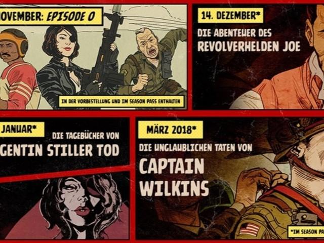 Wolfenstein 2: The New Colossus - Termine der drei Download-Erweiterungen