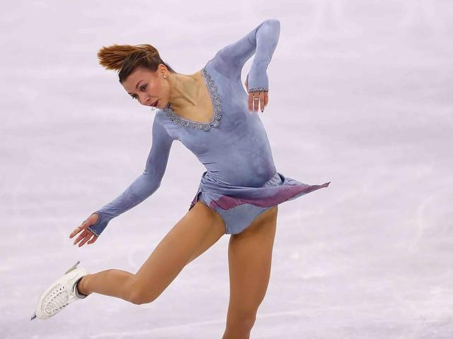 """Pietätlos und geschmacklos: Deutsche Eiskunstläuferin Nicole Schott tanzt zu """"Schindlers Liste"""""""