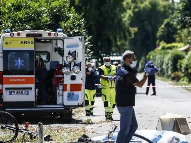 Drei Menschen bei Rom erschossen