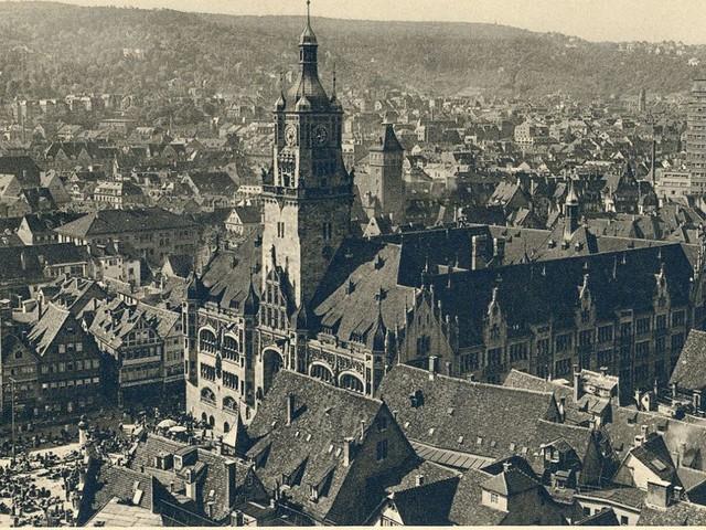 Stuttgart-Album zum Marktplatz: Von der alten Pracht einer stolzen Stadt