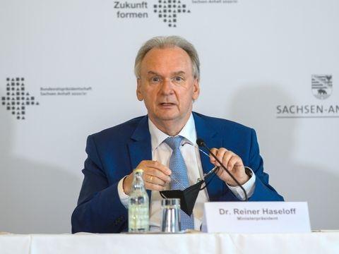 Merz und Haseloff diskutieren Lage der Wirtschaft