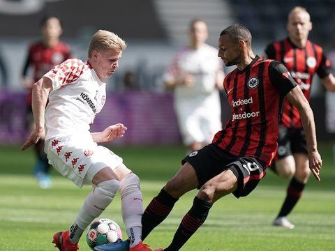 32. Spieltag - 1:1 gegen Mainz: Frankfurt muss um Champions League bangen