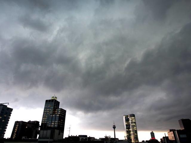 Wetter-Aussicht: Gewittergefahr am Wochenende in westdeutschen Katastrophengebieten
