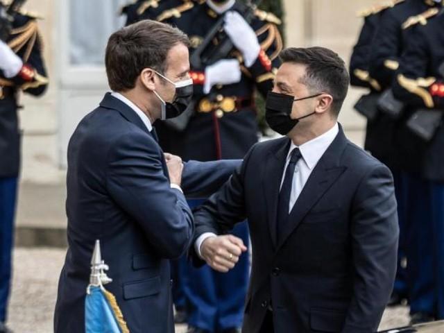 Ukraine-Konflikt: Merkel, Macron und Selenskyj fordern Truppenabbau