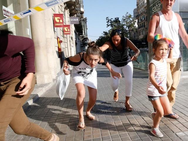 Terror in Barcelona: Bilder vom Geschehen auf Las Ramblas