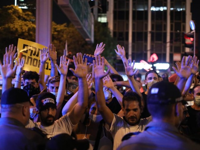 Tausende Israelis demonstrieren gegen Krisenmanagement