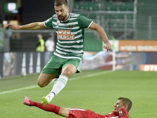 Filip Stojkovic ist der Rapid-Kapitän ohne Schleife