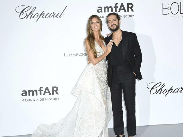 Heidi Klum vor Hochzeit mit Tom Kaulitz: Heißes Foto in weißem Kleid
