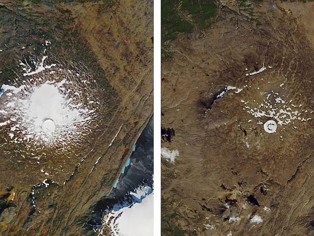 Gletscher Okjökull: Das Eis verlässt Island