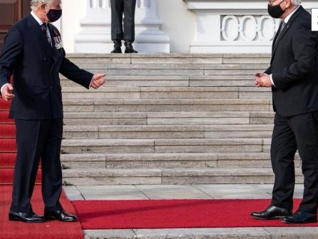 Prinz Charles und Camilla besuchen Berlin