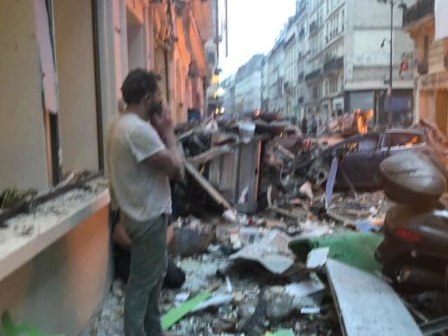 Französische Polizei teilt mit - Heftige Explosion im Zentrum von Paris
