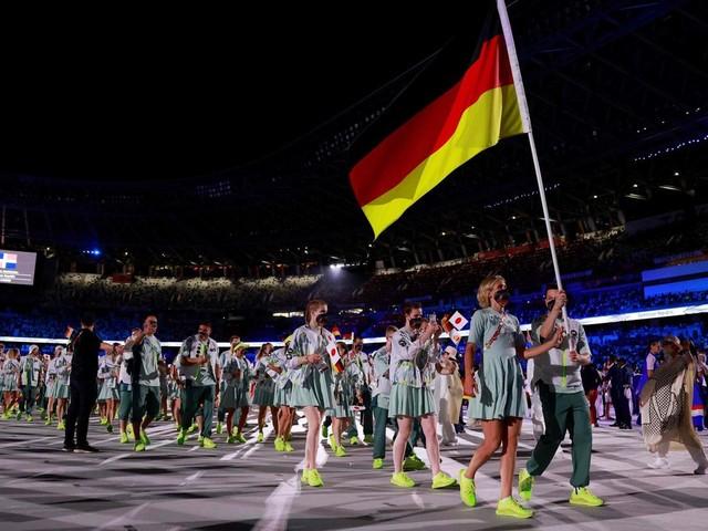 Olympia 2021: Tokio eröffnet seine Spiele – die schönsten Bilder der Eröffnungsfeier