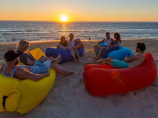 AirLounger für den Sommer - Die coolsten Luftsofas für den Strand und auch Outdoor