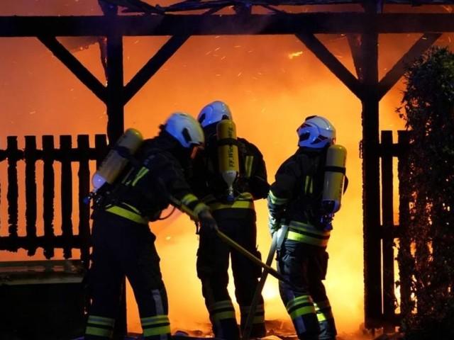 Wieselburg: Müllsammelzentrum am Bahnhof brannte völlig nieder