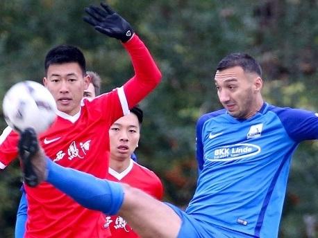 """Chinas U 20 in Deutschland: """"Wir weichen keinen Zentimeter ab"""""""