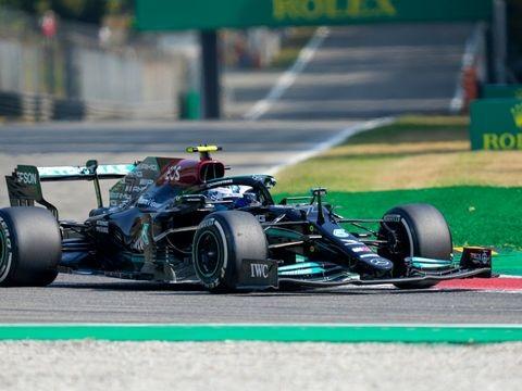 Formel 1: Bottas gewinnt Sprint in Monza - Verstappen auf Pole