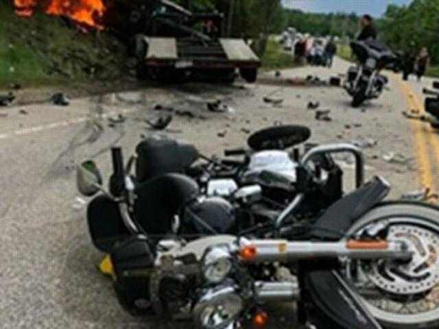 """Sieben Tote bei Motorrad-Unfall: """"Mein Gott, ich will so etwas nie wieder sehen"""""""