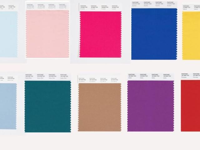 Pantone stellt New York Fashion Week SS22 Farbtrendbericht vor