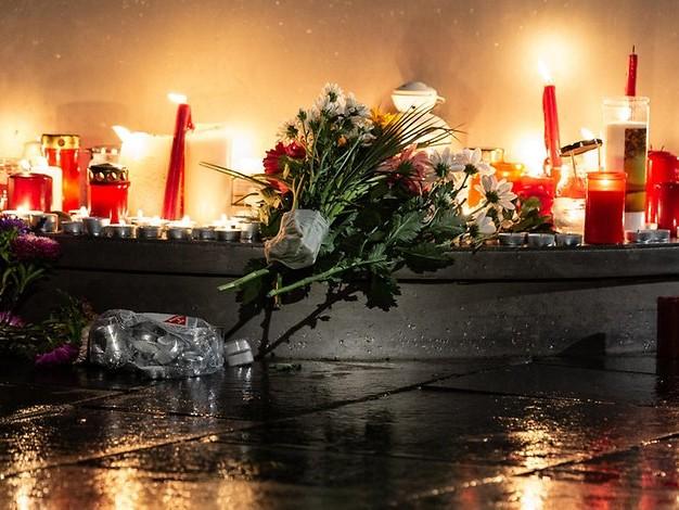 Am Tag nach dem Anschlag: Halle trauert um zwei Todesopfer