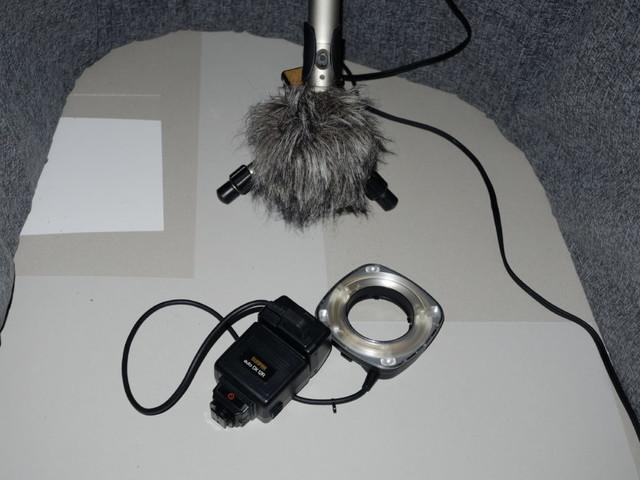»For Sale« Geräusche fotografischer Apparate Teil 8: Sunpak Auto DX 12R mit Ringblitz
