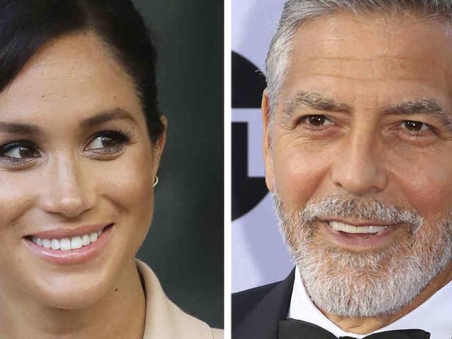 """Gejagt worden wie Diana"": George Clooney sorgt sich über Umgang mit schwangerer Herzogin Meghan"