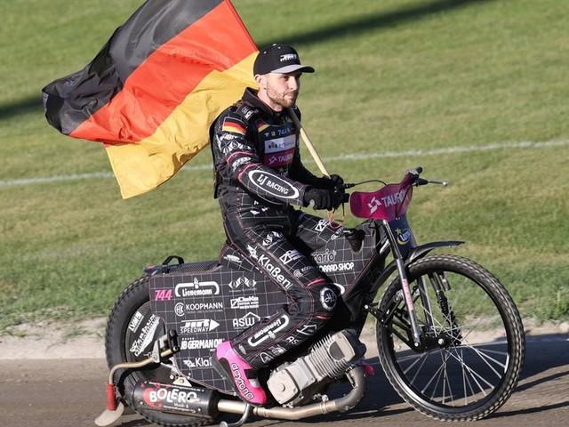 Speedwayprofi Kai Huckenbeck will sich seinen Traum erfüllen