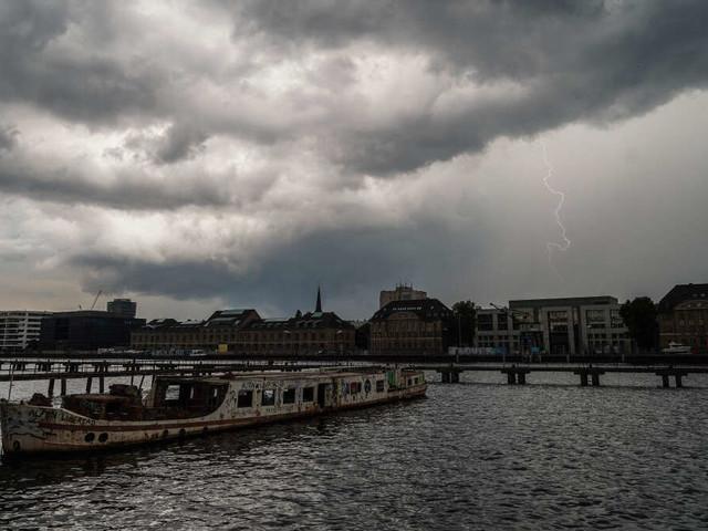 """Berlin im """"Ausnahmezustand"""": Heftige Unwetter toben über der Hauptstadt"""