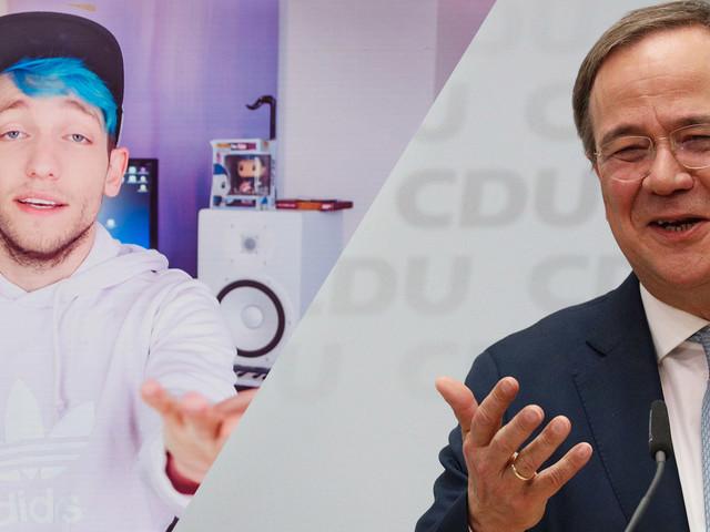 Kanzlertriell mit Rezo: Armin Laschet sagt ab
