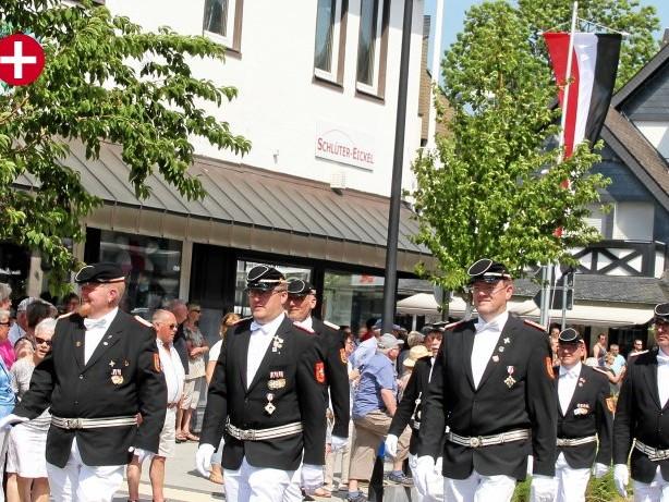Brauchtum: Farben der Schützen in Olsberg von Innenminister verboten