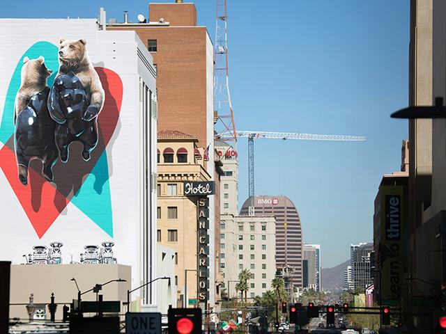 Nevercrew Mural in Downtown Phoenix