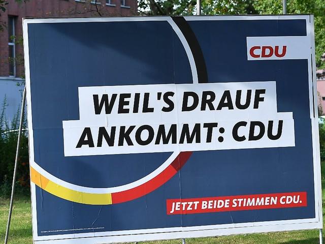 Verliert Union 29 Wahlkreise?: Drei CDU-Minister bangen um Direktmandat