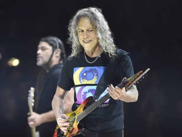 Metallica: Kirk Hammett spielt bei Tribute-Show für Peter Green