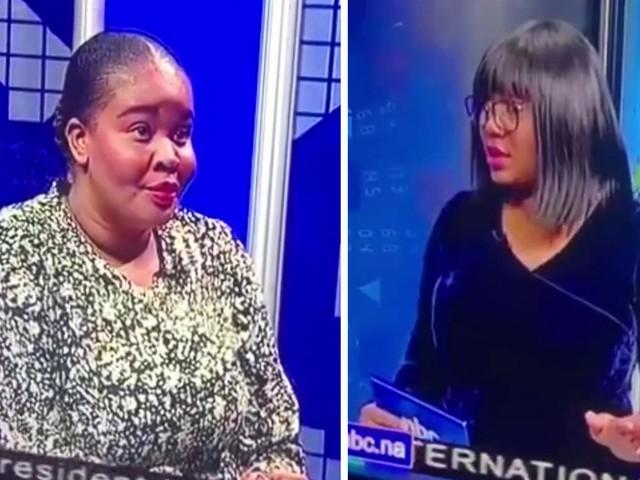 Viraler Hit in Namibia: Moderatorin weist Kollegin im TV zurecht – und merkt nicht, dass sie live ist