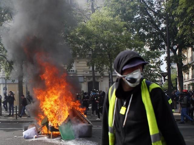 """Wieder Randale in Paris?: Spannung vor Jahrestag der """"Gelbwesten""""-Proteste"""