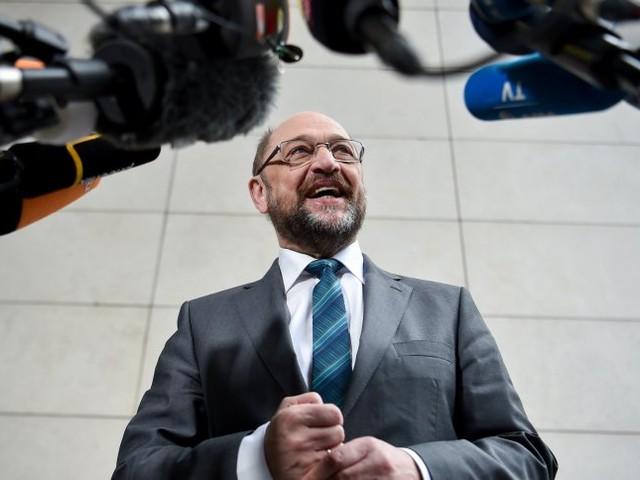 Appell an Merkel-Regierung: Schulz fordert mehr Unterstützung für Macron