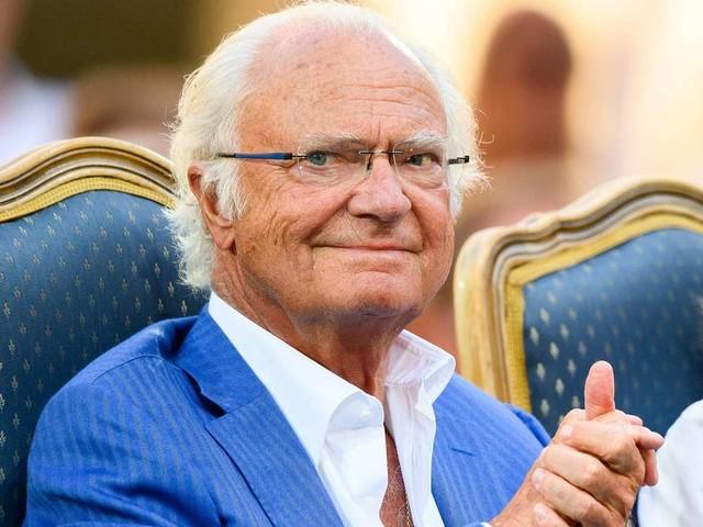 Carl XVI. Gustaf von Schweden: So glücklich sieht man den König selten