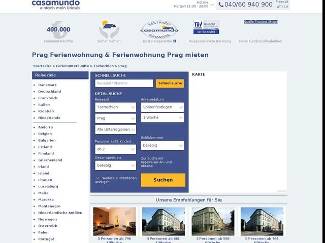 Ferienwohnung Prag & Ferienwohnung in Prag mieten