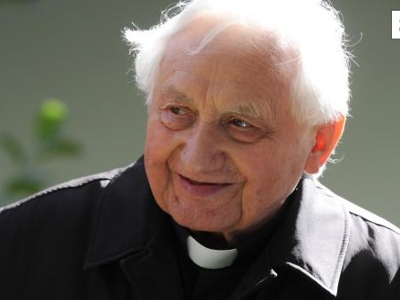 Bruder des emeritierten Papstes Benedikt XVI. ist tot