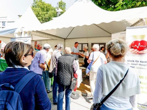 Gesundheit: Gesundheitsforum in Bochum bietet Vorträge und Vorsorge