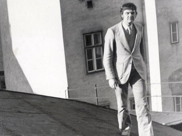"""H.C. Artmann, 100: """"kauf dir ein tintenfass"""""""