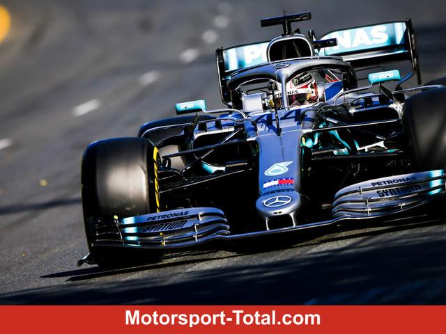 Formel-1-Training Australien: Mercedes dominiert die Konkurrenz