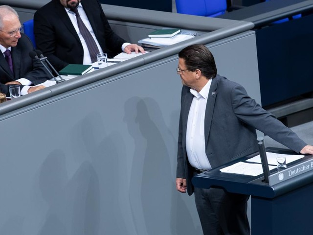 AfD-Politiker greift Bundespräsident Steinmeier an