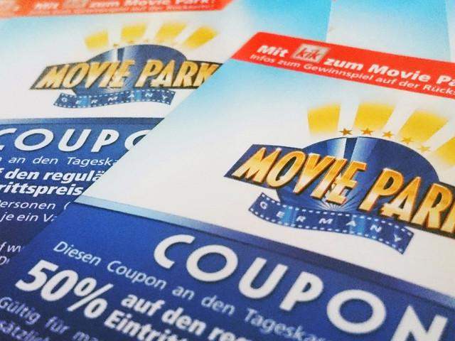 Movie Park-Gutschein von KiK: 2017 mit 50 Prozent Rabatt für bis zu 4 Personen