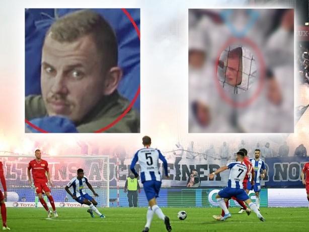Fahndung: Berliner Polizei fahndet mit Bildern nach Hertha-Chaoten