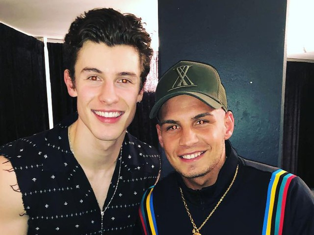 """Total bodenständig"": Pietro Lombardi trifft Shawn Mendes"