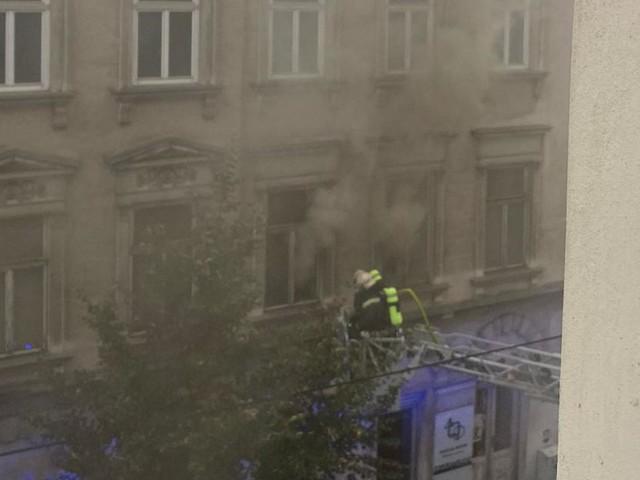 Ein Toter nach Wohnungsbrand in der Hermanngasse