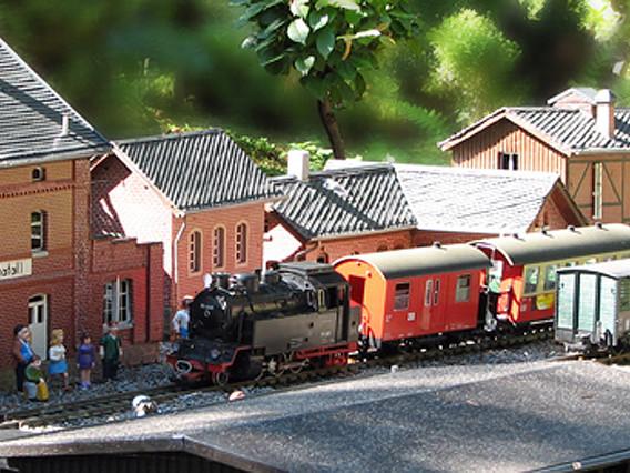 Miniaturpark Klein-Erzgebirge in Oederan günstiger erleben: Eintrittskarten mit 50 Prozent Rabatt sichern!