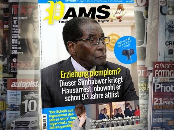Morgen in PamS: Erziehung plemplem? Dieser Simbabwer kriegt Hausarrest, obwohl er schon 93 Jahre alt ist
